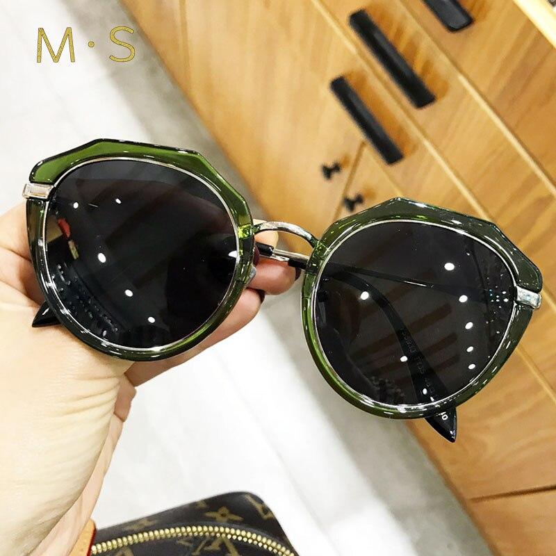 MS 2018 new eyewear polarized sunglasses Classic Brand Designer Sunglasses Retro Fashion Sun glasses for Women