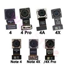 الأصلي الرئيسية الكاميرا الخلفية ل شاومي Mi Redmi نوت 4 4A 4X برو العالمي عودة الكاميرا الخلفية الكابلات المرنة