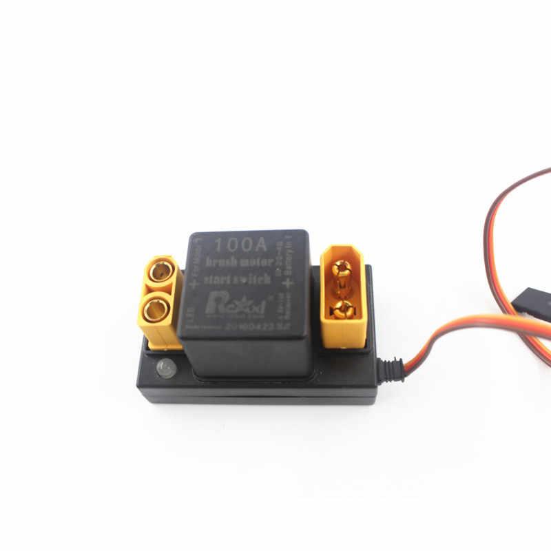 Rcexl 100A Motor Sikat Mulai Elektronik Switch Relay V1.0 untuk DLE EME 35 55