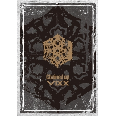 VIXX VOL.2 - CHAINED UP : FREEDOM VERSION (+ 76p Photobook + Photocard + 'Chained up'  Sticker KPOP inhuman vol 2 axis