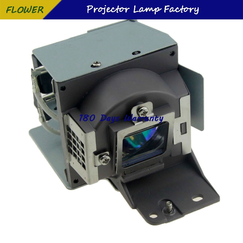 Hot Saling Model 5J J3T05 001 Projector Lamp with housing for BENQ EP4227 MS614 MS615 MX613STLA MX615 MX660P projectors in Projector Bulbs from Consumer Electronics