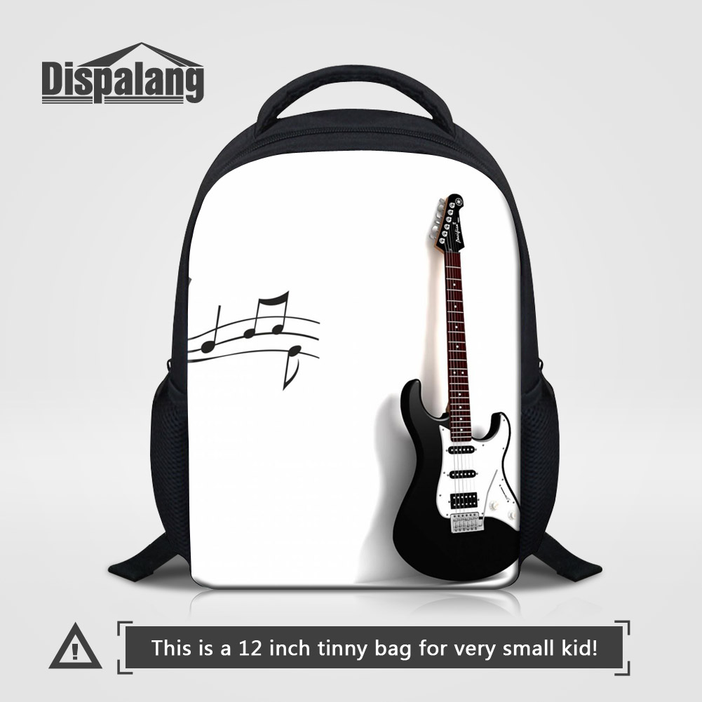 Luggage & Bags Impartial Dispalang Kaiwaii Violin Printed Kids Kindergarten School Bags Music Backpack For Children 12 Inch Small Bookbags Rugtas Mochila Lustrous Surface