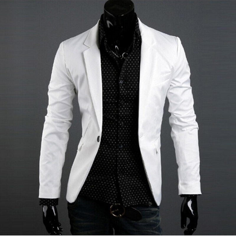 Chaqueta blanca vestir