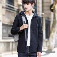2018 NEW ECTIC Spring And Autumn Men S Jacket Casual Long Coat Fashion Casual Jacket A00881