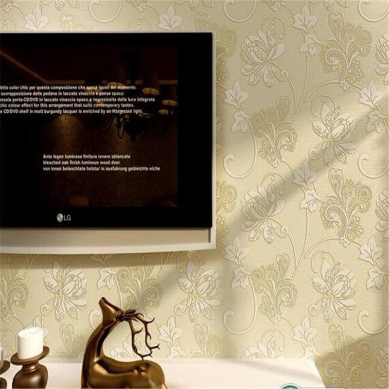 Beibehang Discount European style 3d wallpaper Damascus wallpaper mural bedroom living room sofa TV wallpaper for walls 3 d beibehang wallpaper for walls 3 d elegant jane european style wallpapers living room bedroom book full house 3d wallpaper roll