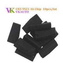 10 pcs lot YS21 CN3 ID46 Chip Em Branco Para Mini Máquina de Cópia CN900 ou ND900 Chave Apoio Reutilização