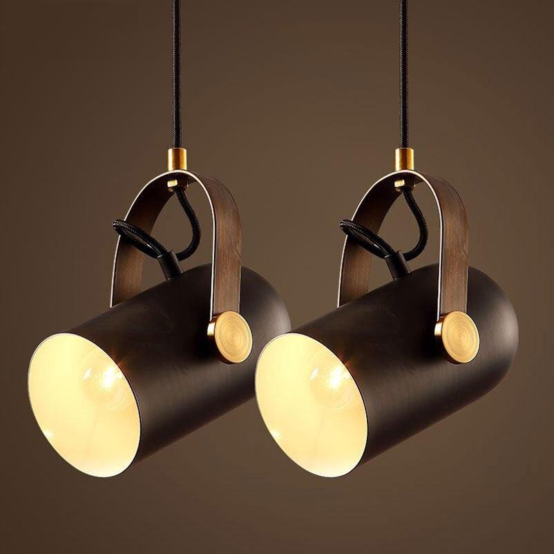 Online Shop Loft LED Track Lamp Nordic Retro RH American Industrial ...