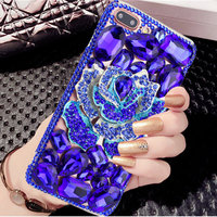 Luxury Diamond TPU Cover Cases For Apple Iphone X 8Plus Silicone Soft Back Case Capa For