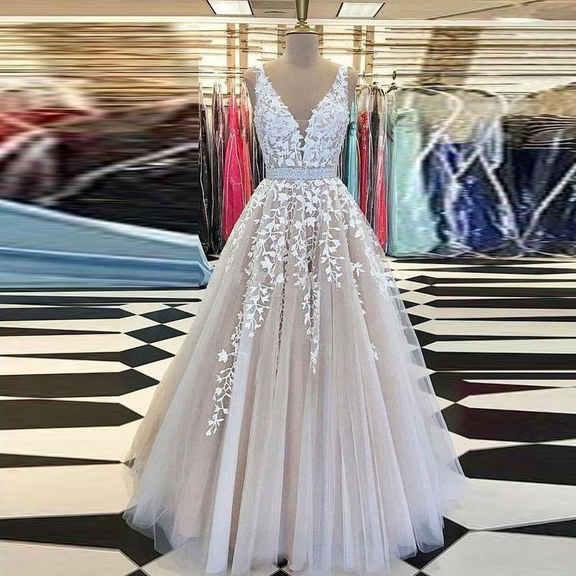 Real Picture Formal Gowns   Evening     Dresses   Elegant Long Appliques Sash   Evening     Dress   Robe De Soiree Vestido De Festa Longo