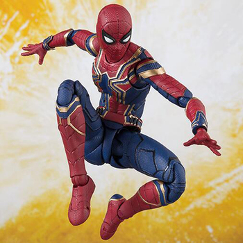 Spider-Man The Avengers 14cm action model figure Super Hero Movable joints with box collection model figures boxed Y7881