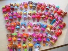 2016 new 8cm 2inch 4pcs 1lot original MGA mini Lalaloopsy Doll gift for child child toys