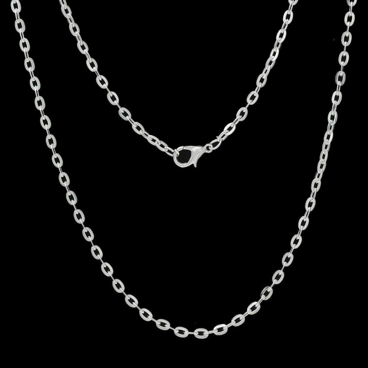 collier argent 30 cm