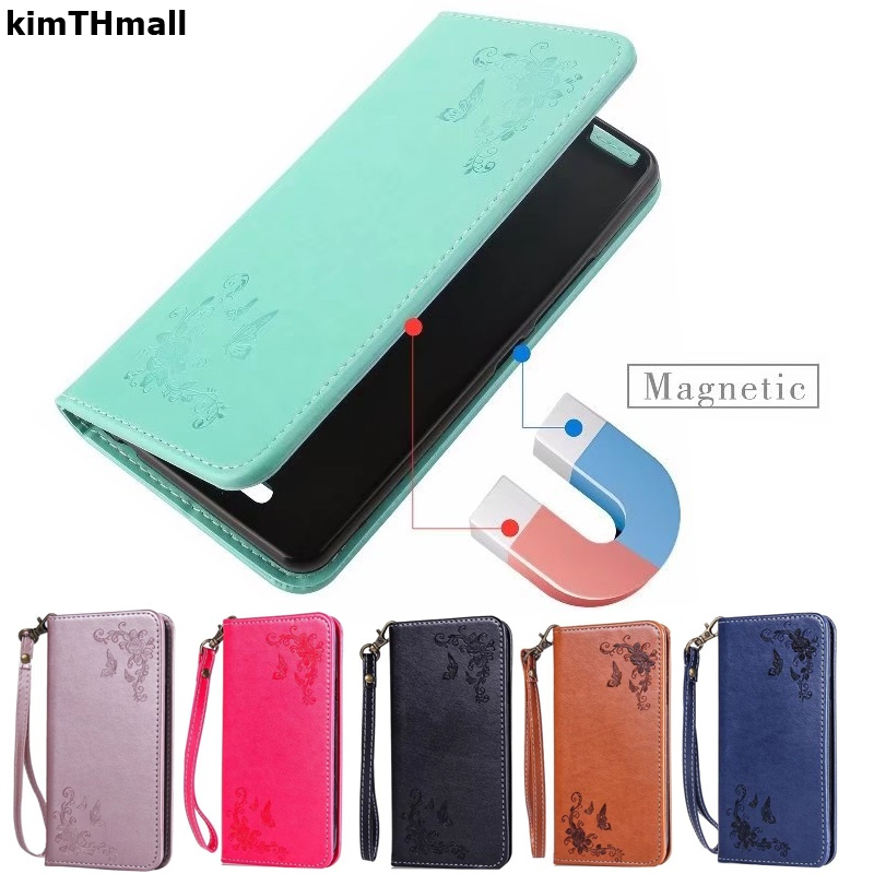 Case For Samsung Galaxy A3 A5 A7 2017 Flip Cover leather soft Magnet Stand card slot case For Galaxy A3 A5 A7 case kimTHmall image