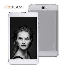 Koslam 7 дюймов 3 г Android Tablette PC Tab Pad IPS 1280×800 Экран МТК Quad Core 1 ГБ Оперативная память 8 ГБ Встроенная память Dual SIM карты 7 «Мобильный Phablet