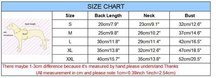 s-xxl size