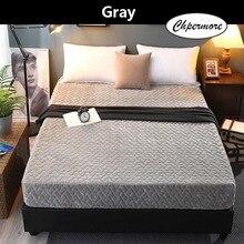 Chpermore kalın sıcak kristal kadife minder 1.8m katlanabilir Tatami yıkanabilir yatak örtüsü Mat kral kraliçe boyutu
