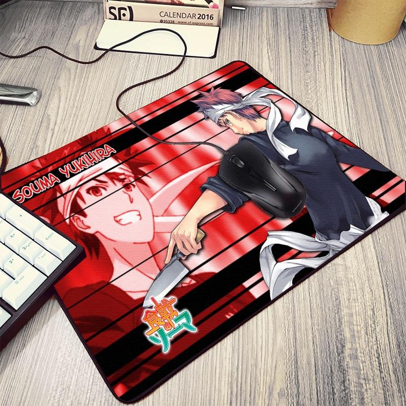 Mairuige для Японии аниме комиксов любителей вентиляторы Shokugeki Нет Soma анимация с принтом Мышь pad Pc Gamer Мышь Pad Mini размеры