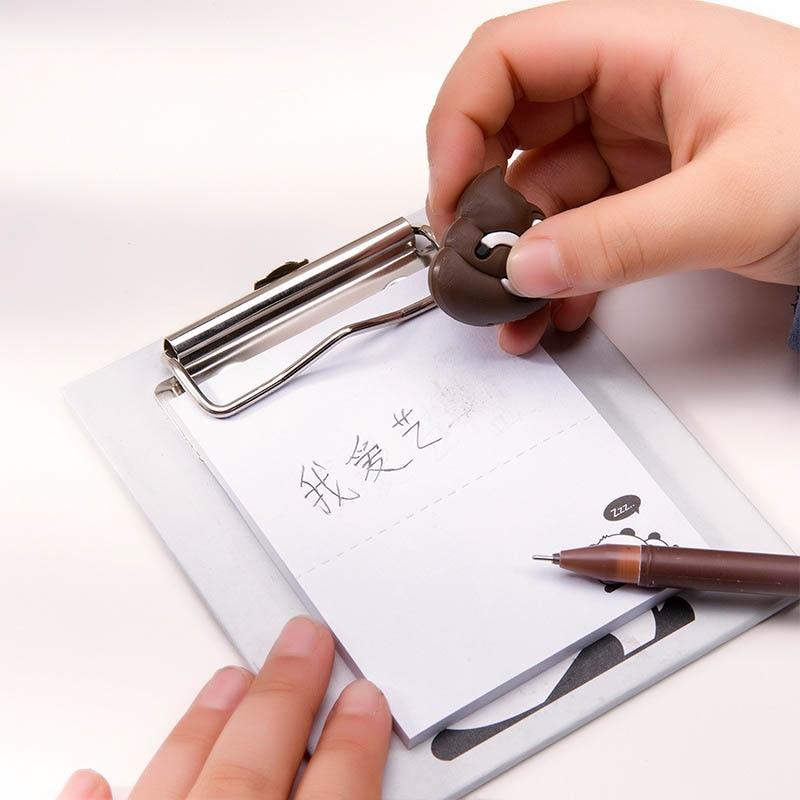 Kawaii 0 5mm Plastic Gel Pen Ink Pen kawaii school supplies Pens office school supplies gift magic fidget pen pen ballpoint in Ballpoint Pens from Office School Supplies