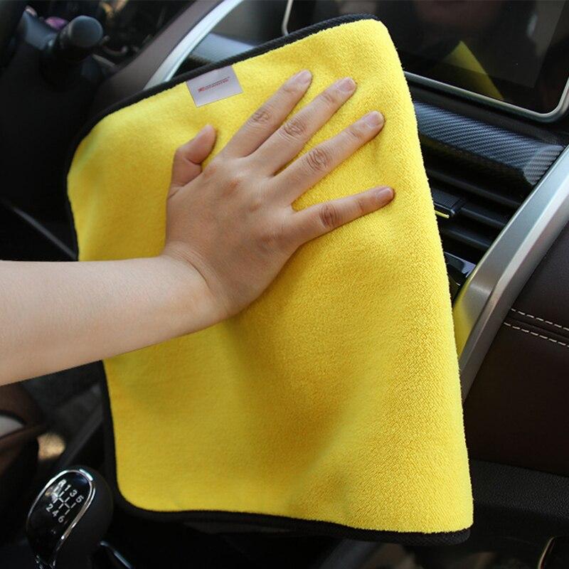 Towel-Cleaning Wash-Towel Detailing Drying-Cloth Microfiber Car-Wash Hemming 30--30cm