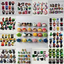 Free Fast Shipping 12-24pcs/lot Mickey Avengers Pets Woody Groot shoe charms shoe accessories shoe decoration for Kids croc jibz 16pcs mickey minnie pvc shoe charms shoe accessories shoe buckle for wristbands croc kids favor gift