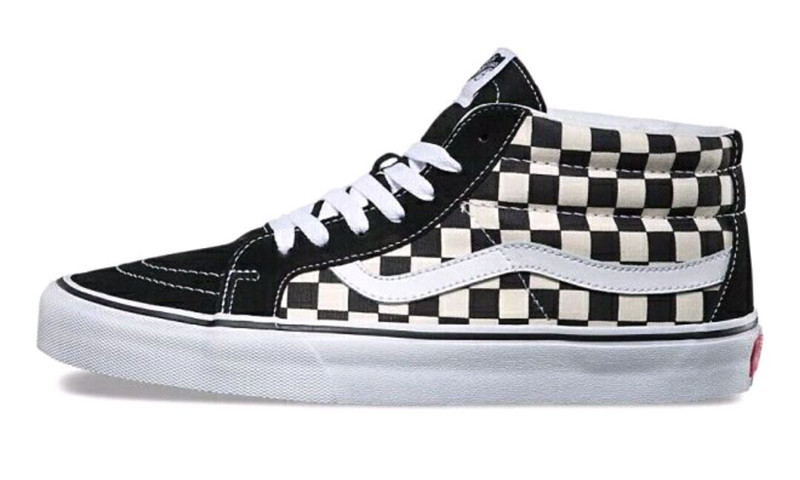 Authentic Vans Old Skool Skateboarding Shoes Sneakers Black/white Plaid Vans Off The Wall Men/women Sports Shoes Size Eur 36-44 Smoothing Circulation And Stopping Pains Sports & Entertainment