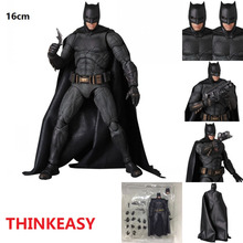 THINKEASY Bat man Captain America Ant Man Cartoon Toy Action Figure Model Doll Gift Christmas Gift halloween toy gift marvel avengers action figure collection 27cm pa captain america model doll movable decorations