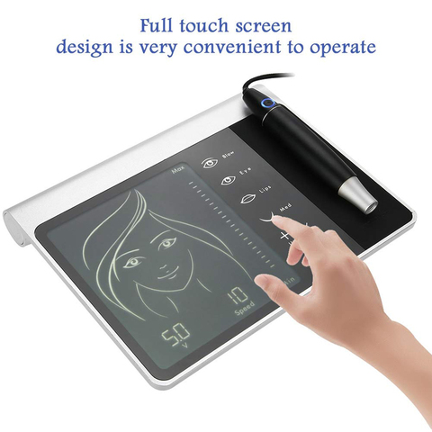 linha dos olhos com painel touch screen