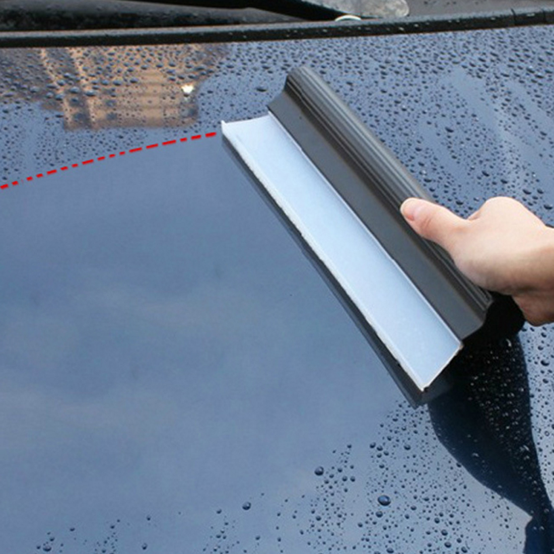 BU Bauty Windshield Clean Fast Quick Easy Shine Car Auto Drying Wiper Blade Squeegee Cleaning Cleaner Glass Window Brush T Shape in Window Repair from Automobiles Motorcycles