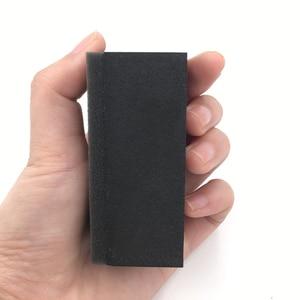 Image 4 - Applicateur de revêtement céramique, 5 pièces, éponge pour la glaçure, tampon en tissu plaqué, surface en cristal, gomme