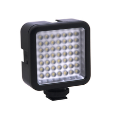 Mini DC 3V 5.5W 49 LED Video Camera Light Panel Lamp 6000K for Canon Nikon DSLR Camera Camcorder DVR DV Photography mcoplus 168 led video light on camera photographic photography panel lighting for canon nikon sony dv camera camcorder vs cn 160