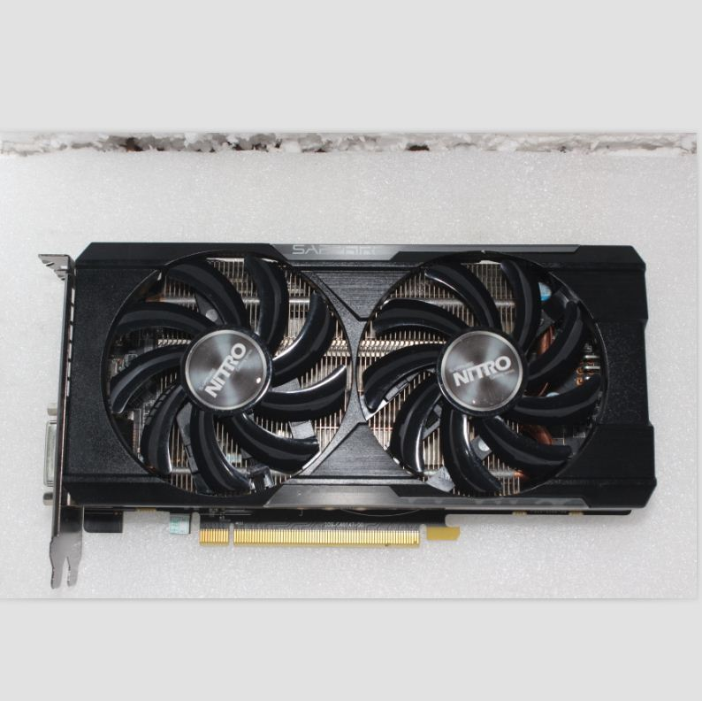 Used, Sapphire R9/R7 370 4GB 256Bit GDDR5 graphics card for ATI Radeon Games image