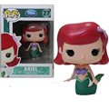 Funko POP The Little Mermaid Ariel Beauty Fish Vinyl Figure Cartoon mini Decorative Collection Model Toy 10cm Doll Gift for girl