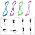 ✔  Главная Спорт Фитнес Yoga 8 Shape Pull Rope Tube Оборудование Инструмент Тренажерный зал Упражнение  ①