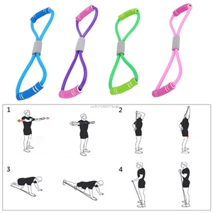 Home Sport Fitness Yoga 8 Shape Pull Rop