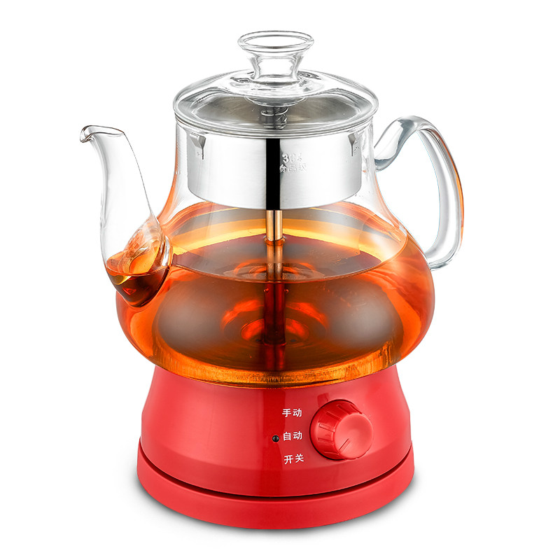 Electric kettle Black tea brewed maker fully automatic glass health brew electric bubble teapotElectric kettle Black tea brewed maker fully automatic glass health brew electric bubble teapot