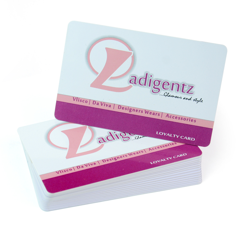 Wholesale custom printing pvc barcode loyalty card-in Business Cards ...