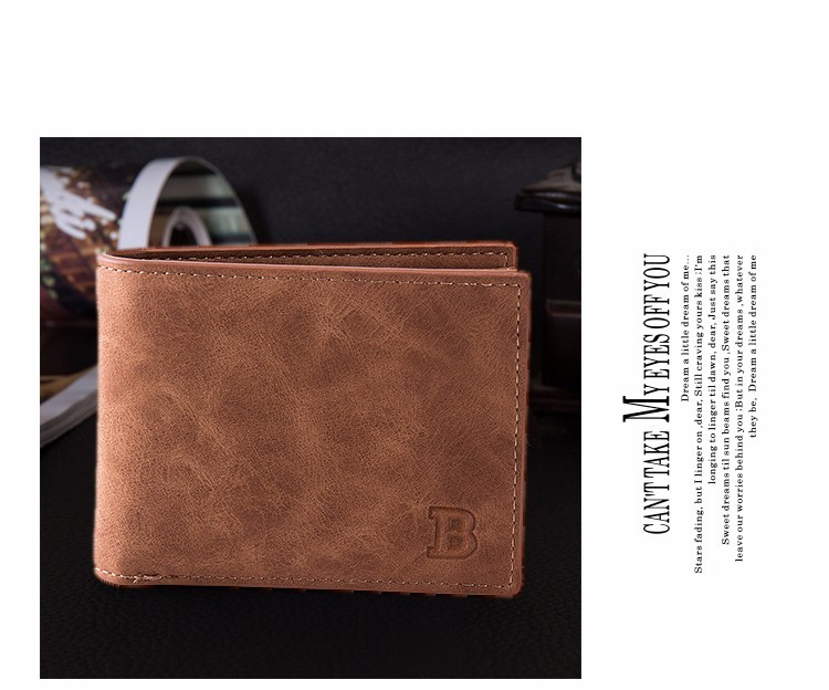 Coin Bag zipper 17 New men wallets mens wallet small money purses Wallets New Design Dollar Price Top slim Men Wallet For Male 9