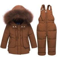 Newborn Clothes Set Jackets Suit Baby Toddler Thickening Winter Snow Jumpsuit Russia Winter Kids Girls Boys Snowsuit Jumpsuit