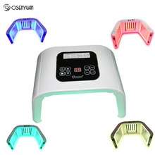 7 Color LED Mask Beauty Electric Face Mask Photon Anti Aging Machine PDT Therapy Skin Rejuvenation Acne Remover Anti Wrinkle SPA 7 in 1 skin care options ultrasonic galvanic ion photon skin rejuvenation anti aging acne remover face lifting beauty machine