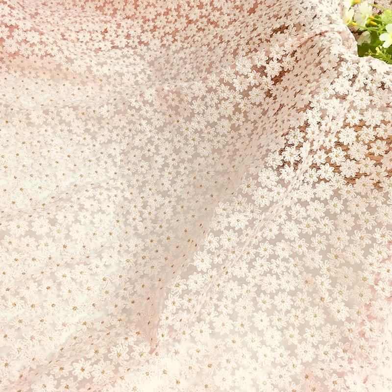 Farbe Perle Perlen 3D Stickerei Patch Hochzeit Spitze Blume Patch Leistung  S1X1