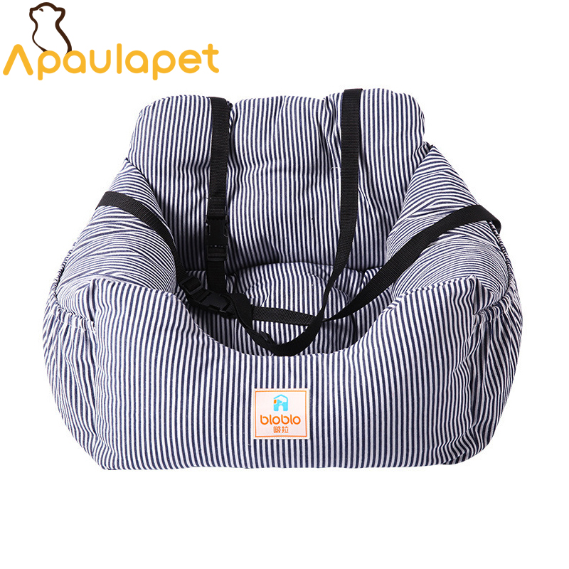 APAULAPET Car travel House Safe Car Dog Bed Teddy Kennel