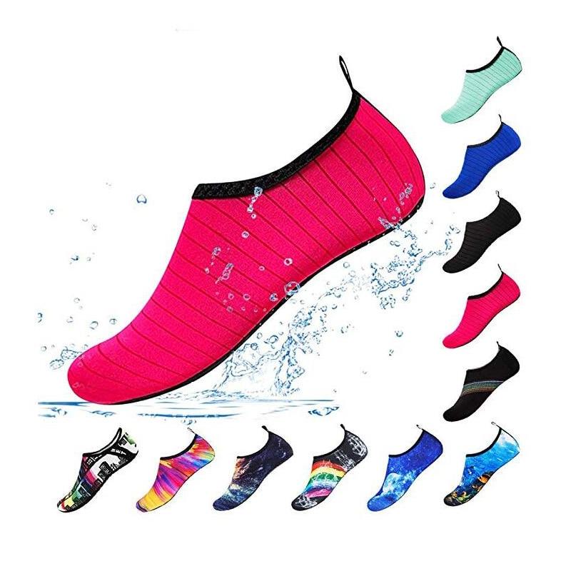 Water Sports Shoes Barefoot Quick-Dry Aqua Yoga Socks Slip-on for Men Women 1