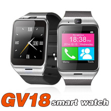 GV18 Smart Watch NFC Mobile Phone Bluetooth Smartwatch Alarm Sleep Anti-lost Remote Camera For Android IOS Waterproof PK Q18 Y1