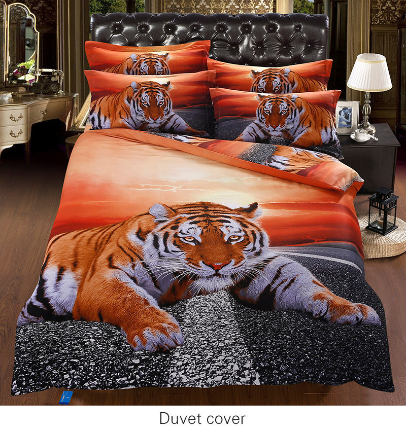 Online Buy Wholesale Tiger Comforter Set From China Tiger