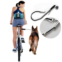 Dog Bicycle Bike Exerciser Leash Attachment Distance Keeper Hands Free Dog Training Trotter Jogger Dog Control