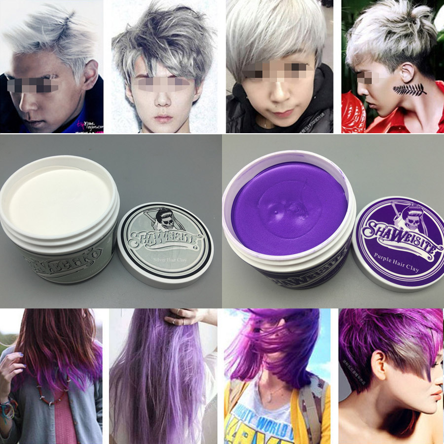 Beauty & Health Hair Color Useful 1 Piece Original Suavecito Pomade Hair Coloring Hair Styling Wax Mud Hair Clay Gray Purple Green Burgundy Brown Blue Silver