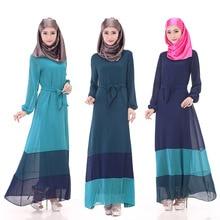 The new Muslim robes of large size women fashion dress islamic robe dresses vestidos abaya wholesale