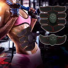 New 8 Packs Body Massager Smart EMS Abdominal Muscle Trainer Wireless Sports Fitness stimulator muscle electr