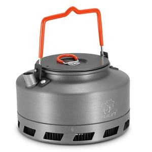 Image 3 - 1,1 L Aluminium Legierung Tragbare Wasserkocher Wasser Topf Teekanne Kaffeekanne Geschirr Kochgeschirr Outdoor Camping Wandern Picknick Wasser Topf