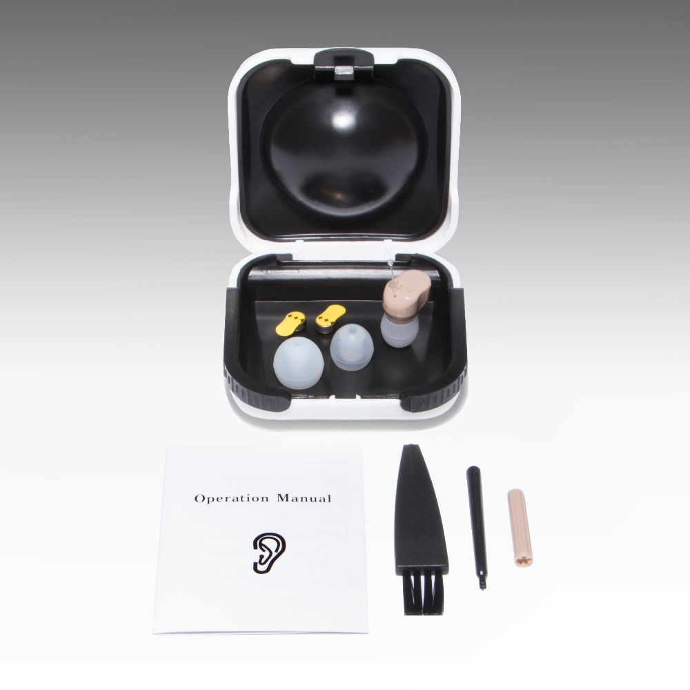 2PCS osynligt litet hörselhjälpmedel i hörselhjälpmedel för - Sjukvård - Foto 6